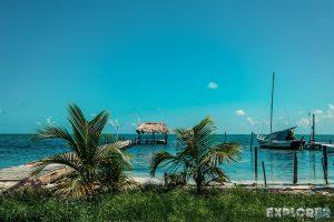 Belize Caye Caulker Beach Backpacker Backpacking Travel 2