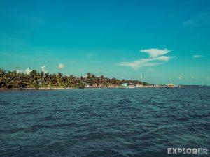 Belize Caye Caulker Beach Backpacker Backpacking Travel