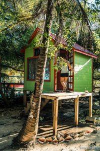 Belize Caye Caulker Pause Hut Backpacker Backpacking Travel