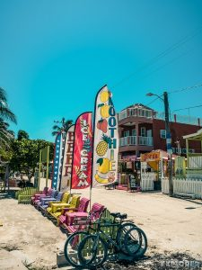 Belize Caye Caulker Split Bikes Backpacker Backpacking Travel