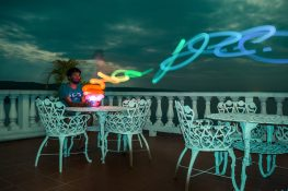 Guatemala Flores Lightpainting Photography Backpacker Backpacking Travel