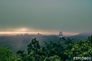 Guatemala Tikal Temple Sunrise Backpacker Backpacking Travel 2