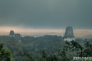 Guatemala Tikal Temple Sunrise Backpacker Backpacking Travel