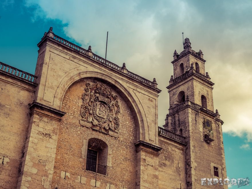 Mexico Merida Catedral De San Ildefonso Backpacker Backpacking Travel