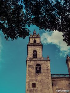 Mexico Merida Catedral De San Ildefonso Tower Backpacker Backpacking Travel