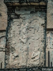 Mexico Palenque Maya Relief Backpacker Backpacking Travel