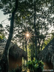 Mexico Palenque Sunrise Backpacker Backpacking Travel