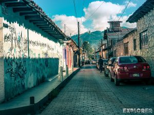 Mexico San Cristobal De Las Casas Graffiti Street Backpacker Backpacking Travel