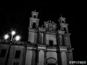 Mexico San Cristobal De Las Casas Iglesia de la Merced Night Backpacker Backpacking