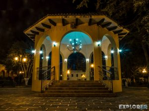 Mexico San Cristobal De Las Casas Iglesia Plaza de la Merced Night Backpacker Backpacking Travel