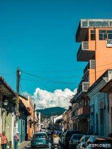 Mexico San Cristobal De Las Casas Street Backpacker Backpacking Travel