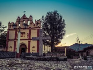 Mexico San Cristobal De Las Casas Templo Del Calvario Backpacker Backpacking Travel