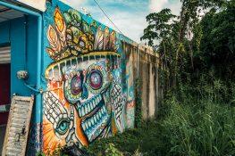 Mexico Tulum Graffiti Backpacker Backpacking Travel