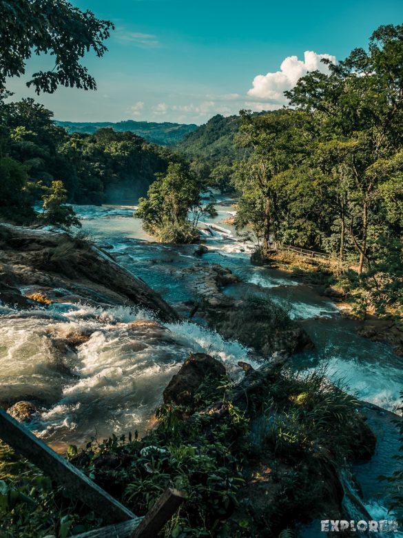 Palenque Agua Azul Waterfalls Backpacking Backpacker Travel