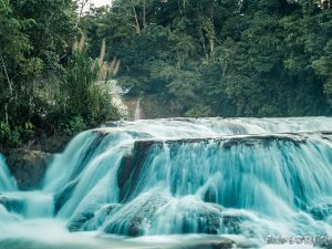 Palenque Agua Azul Waterfalls Backpacking Backpacker Travel