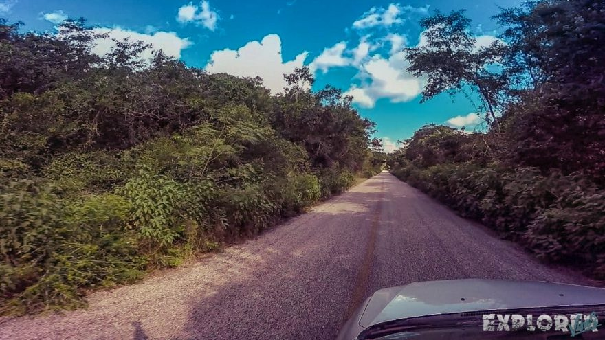 Mexico Ruta Puuc Straight Road Backpacking Backpacker Travel 2
