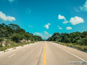 Mexico Ruta Puuc Straight Road Backpacking Backpacker Travel