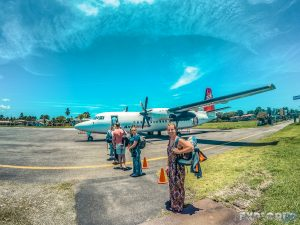 Panama Bocas Del Toro Airport Backpacker Backpacking Travel