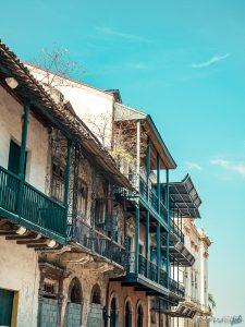 Panama City Casco Viejo Balcony Backpacking Backpacker Travel
