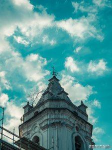 Panama City Casco Viejo Churchtower Backpacking Backpacker Travel