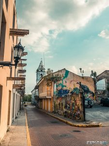 Panama City Casco Viejo Graffiti Backpacking Backpacker Travel