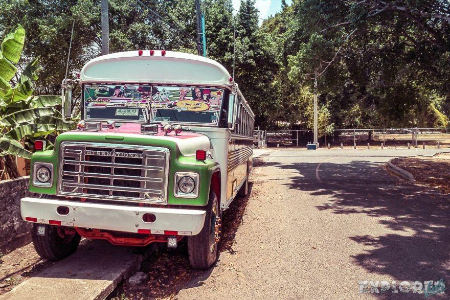 Panama City Chickenbus Backpacking Backpacker Travel