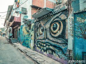 Panama City Graffiti Backpacker Backpacking Travel