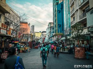 Panama City Pedestrian Street Backpacking Backpacker Travel