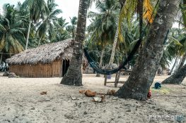 Panama San Blas Kuna Yala Isla Aroma Huts Hammocks Backpacking Backpacker Travel