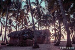 Panama San Blas Kuna Yala Isla Aroma Sunset Backpacking Backpacker Travel