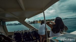 Panama Bocas Del Toro Scuba Diving Boat La Buga Backpacking Backpacker Travel