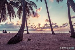 Panama San Blas Kuna Yala Aroma Island Sunset Backpacking Backpacker Travel