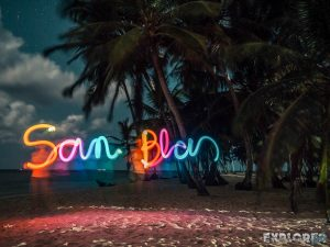 Panama San Blas Kuna Yala Isla Aroma Lightpainting Backpacking Backpacker Travel