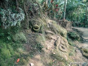 Indonesia Bali Goa Gajah Stone Carvings Backpacking Backpacker Travel