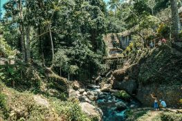 Indonesia Bali Gunung Kawi Creek Backpacking Backpacker Travel