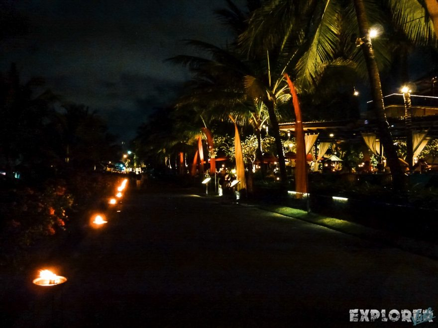 Indonesia Bali Kuta Beach Night Backpacking Backpacker Travel