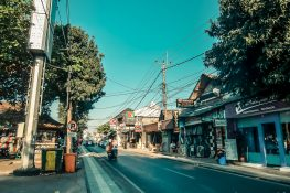 Indonesia Bali Kuta Street Backpacking Backpacker Travel
