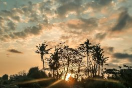 Indonesia Bali Sunset Backpacking Backpacker Travel