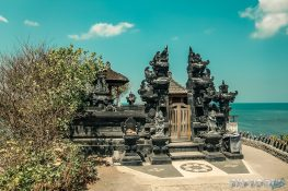 Indonesia Bali Tanah Lot Backpacking Backpacker Travel