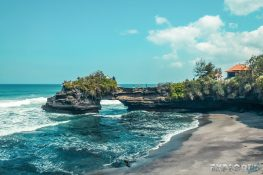 Indonesia Bali Tanah Lot Beach Backpacking Backpacker Travel