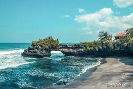 Indonesia Bali Tanah Lot Beach Backpacking Backpacker Travel