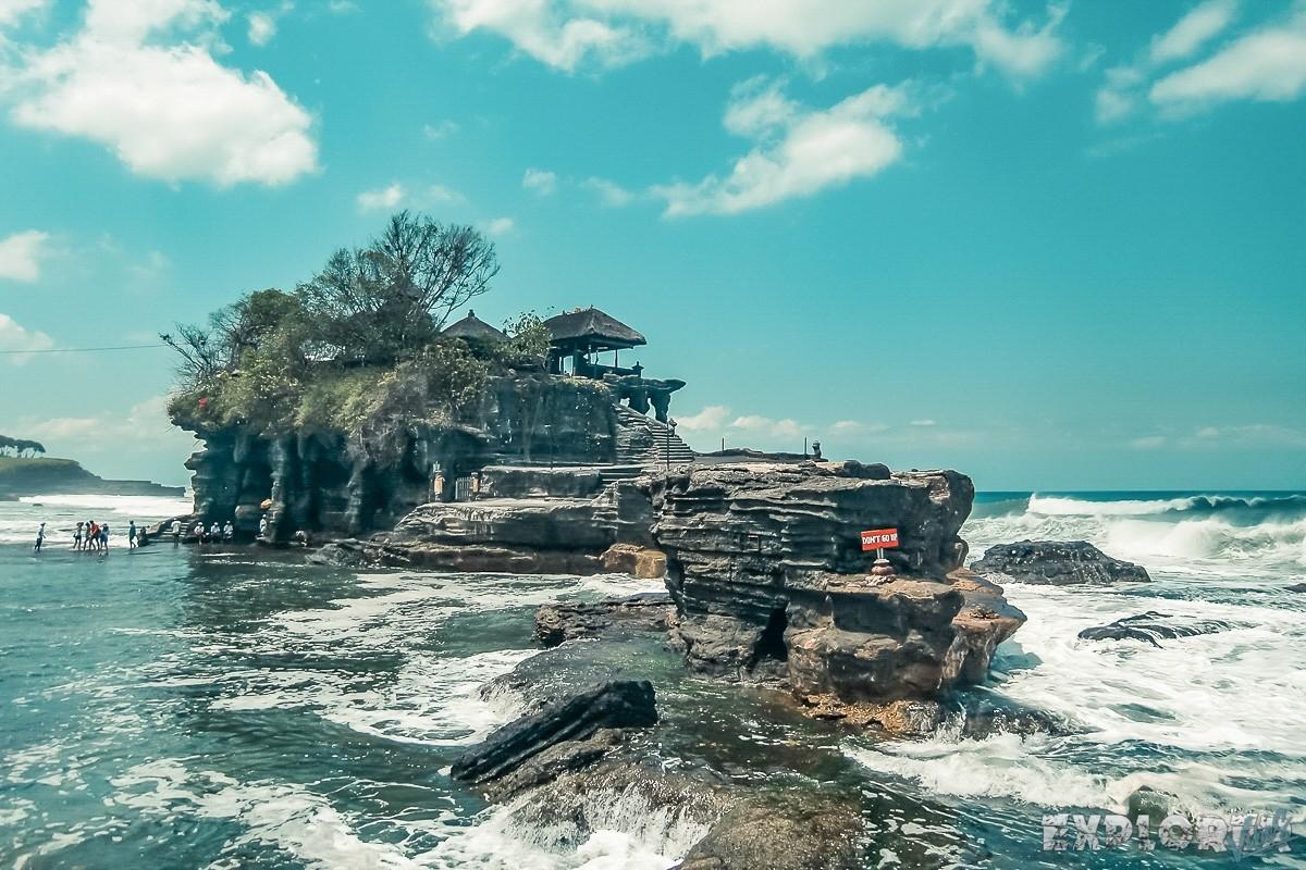 Indonesia Bali Tanah Lot Expectation Backpacker Backpacking Travel