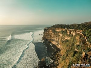 Indonesia Bali Uluwatu Beach Sunset Backpacking Backpacker Travel