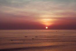 Indonesia Bali Uluwatu Fishermen Fisherboats Beach Sunset Backpacking Backpacker Travel
