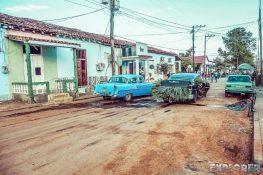 Cuba Vinales Car Full Sugarcane Backpacker Backpacking Travel