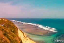 Indonesia Bali Gunung Payung Beach Paragliding Backpacking Backpacker Travel