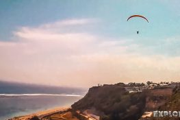 Indonesia Bali Gunung Payung Beach Paragliding Backpacking Backpacker Travel