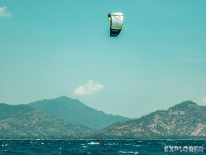 Indonesia Gili Air Kitesurfing Backpacker Backpacking Travel