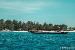 Indonesia Gili Trawangan Beach Backpacker Backpacking Travel