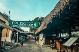Indonesia Gili Trawangan Beach Bar Irish Pub Tirnanog Backpacker Backpacking Travel